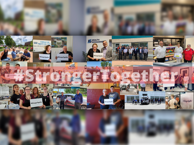 #StrongerTogether Shows Off Chamber Members